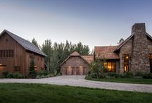 Wood River Valley Chalet / Coming from Minnesota this couple already had an appreciation for a woodland retreat. Wanting to lay some roots in Sun Valley, Idaho, guided the incorporation of historic hewn, stone and stucco into this cozy home among a stand of aspens with its eye on the skiing and hiking of the surrounding mountains.