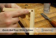 LEGNO Lavorazione / Lavorazione del legno. Tecniche di lavorazione
