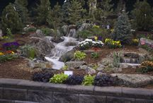 The 2014 Denver Home Show - Gardens of Excellence / Every year, Rocky mountain WaterScape participates in numerous home shows. These events bring lots of people interesting in upgrading their existing homes. We showcase our water features and answer questions regarding their construction, cost and how they can fit into any new or existing landscape.