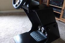 DIY Racing Wheel Stand