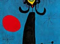 Miro la sintesis. / Obras de Joan Miro que me parecen sublimes.