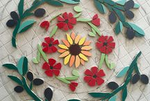 The latest work from my mosaic studio! / See what I am working on my studio at the moment.  Got an idea for your own mosaic? Do get in touch! www.felicityballmosaics.com