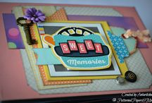 Patterned Papers And Me / Scrapbooking, Mini albums, Crafts, Paper crafting ideas