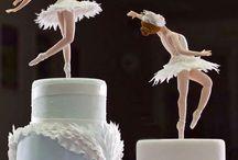 Bolos decorados ballet