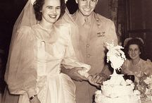 VINTAGE WEDDING PHOTOS / So cute!!! Simply love how people used to style!!!