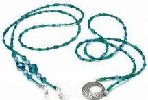 Eye glass holder necklace tutorials