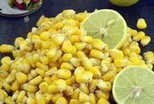 Corn Recipes, Veg Baby Corn Recipes, Indian / A great collection of Indian Corn and Baby corn recipes.