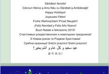 Sărbători fericite! Happy Holidays!