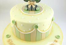 Baby/birthday cake