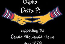 Philanthropy / Alpha Delta Pi's national philanthropy is the Ronald McDonald House Charities. / by ΑΔΠ WFU