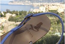 Custom Capri Sandals / Italian handmade leather sandals