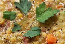 Pea Soup with Hambone