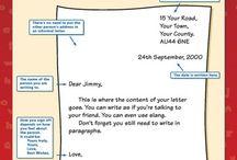 paragraphs letters