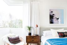 Midcentury Bedroom / Inspiration for midcentury decor in the bedroom