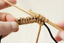 Knooking=Knitting with your Crochet Hook