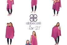 How To Wear / Here are quick How-To's for wearing your abbewrap! :)