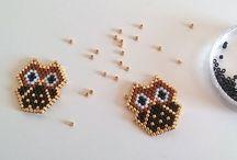 Miyuki brick stitch