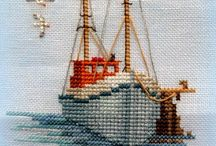 landscape cross stitch