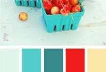 Inspiration palette de couleurs