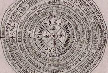 písmena,znaky ,runy