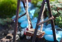 miniatury zahrada