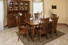 Amish Dining Room Sets / Amish Furniture Warehouse offers you quality, handmade Amish dining room furniture - Tables, Hutches, Buffets, Chairs, Benches.  See more at http://www.amishfurniturewarehouse.biz/dining-room.php
