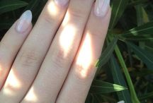 Natural Acrylic Nails