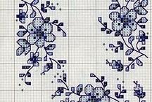 kwiatki wzory