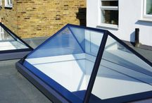 Lantern Rooflights / The Lantern Rooflights have a contemporary design providing a more architectural feel. Giving added height and volume to your room, providing maximum light transmission and that all important wow factor.