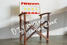 DIY DIRECTORS CHAIR / by Kayla Parcells