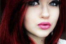 Hair color / by Misty Hardin