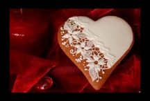 How to decorate gingerbread for Valentine's Day / How to decorate gingerbread for Valentine's Day