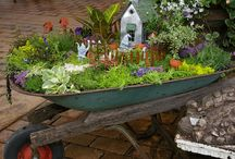 Fairy Gardens / We want to make some fairy gardens in our backyard...