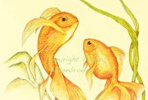 Fish by Paula Kuitenbrouwer / by Arts Books Crafts