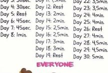 work out every day!!