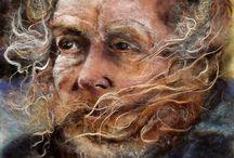 J.Harrison wool art