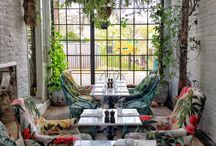 Botanical themed interiors