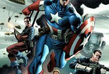 Super Heros / Super heros, batman, wonderwoman, wonder woman, superman, captain america, marvel comics, wolverine, cat woman, bat girl / by Allie Gentry
