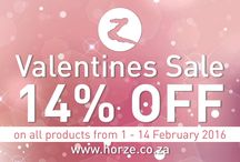 Valentine's Sale 1-14 Feb 2016 / Informing everyone of our 14% off Valentine's Sale and sharing some great images of products you might like