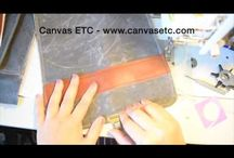 FREE DIY PROJECTS WITH CANVAS / Free DIY Tutorials to make bags, totes, and other fun fabric and canvas items.