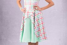 retro fashion / retro dresses, pinup dresses, rockabilly dresses Custom sizing www.ticci.hu