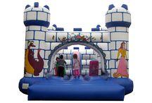 Castillos hinchables superbig / Castillos #hinchables de tamaño muy grande, ¿tendrás espacio para ponerlos?