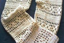 roupas de crochê