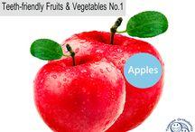 Teeth Friendly Fruits & Vegetables