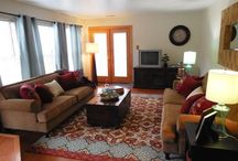 Living Room Design Ideas / Examples of living room design ideas and staging