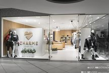 Interior design of a luxury women's clothing shop - CharmeLovesYou