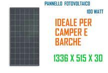PANNELLO FOTOVOLTAICO 100 WATT / I moduli solari fotovoltaici SOLARTRONICS sono ideali per piccole  applicazioni  come camper, nautica, case isolate,   molto altro ancora.