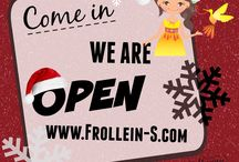 Frollein S® News & Updates / Stay up-to-date with us and don't miss exciting news about Frollein S! #WeLoveBeingCreativeWithYou #SewingwithFrolleinS #FrolleinSusa #Fabric #Papersewingpatterns #fabricsale #giveaway #JerseyFabric