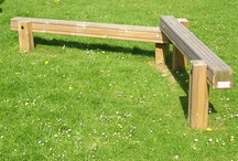 Outdoor Furniture / Fun and practical outdoor furniture that are ideal for school playgrounds
