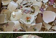 porcelán mozaik